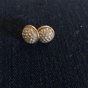 Jcrew diamond studded earrings